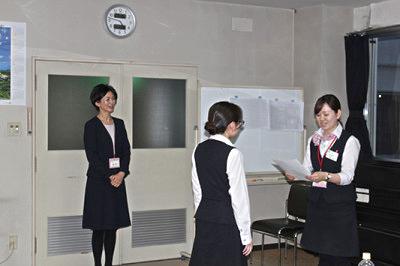 仙台徳洲会病院様にて接遇研修会を行いました。